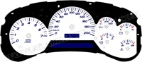 02-05 Trailblazer-GMC Envoy Auto kmh Gauge Face