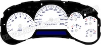 2006 & Up Trailblazer-GMC Envoy Auto kmh Gauge Face