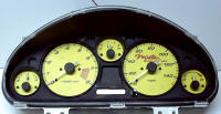 99-04 Miata SC with custom logo Gauge Face