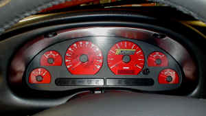 Custom Tuner Transformation Mustang Gauge Face
