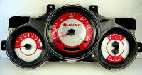03-06 Honda Element Red Pearl Gauge Face with logo