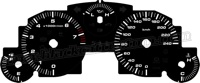 2006-2008 Mazda Miata Black Gauge Face