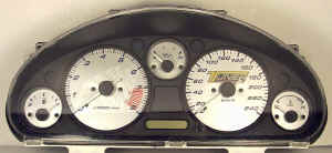 Miata Custom Tuner Transformation Gauge Face kmh