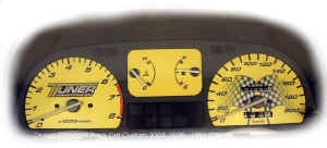Honda CRX Custom Gauge Face